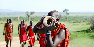 Kiplings rejser til Kenya i Afrika