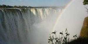 Victoria Falls er et af de pæneste steder i Sydafrika