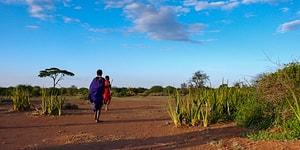 Børn på Safari