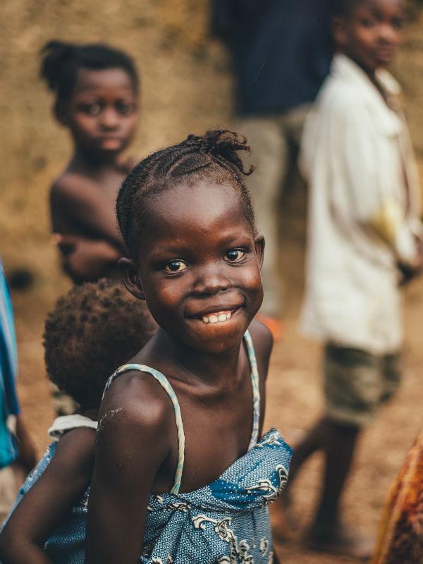 børn i Tanzania