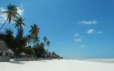 Zanzibar er en ø som tilhører Tanzania