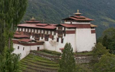 Rejs til Trongsa i Bhutan
