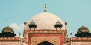 Humayuns Mausoleum er meget detaljeret i sin udsmykning