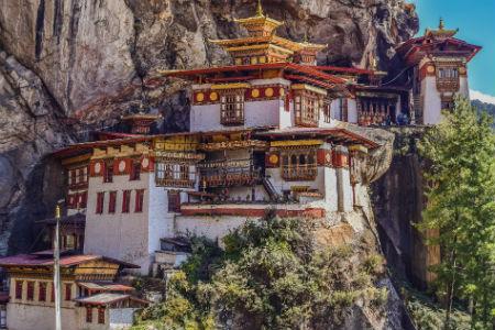 I Paro kan du besøge nogle af Bhutans vigtigste templer