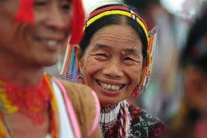 Indbyggere i Borneo