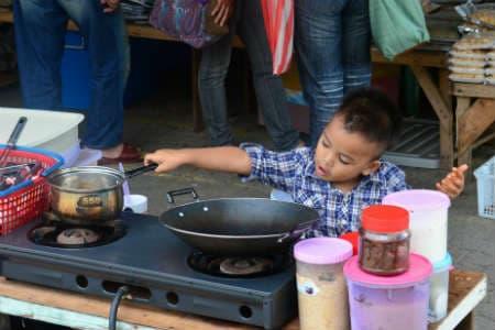 Borneo rejser er fyldt med nye madoplevelser