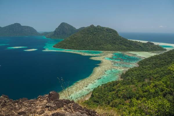 Tag på badeferie i Borneo