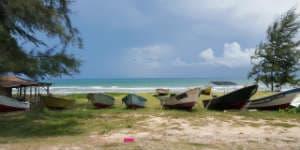 Borneo rejser byder på smukke strandealt