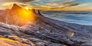 Rejs til Borneo og se smukke Mount Kinabalu