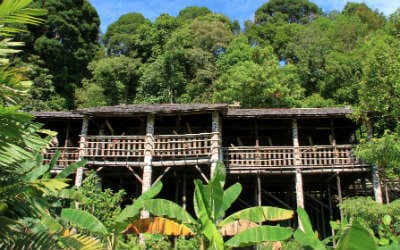 Besøg Iban-folket på rejser til Borneo