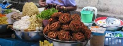 Udsøgt mad i Burma