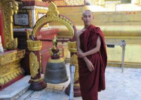 Munk i Burma