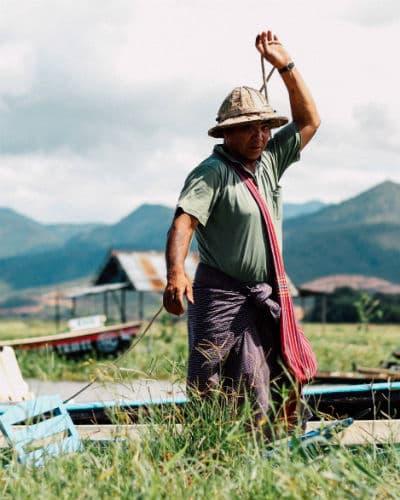 Mød lokale fiskere når du er på rundrejse i Burma