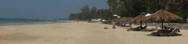 Ngapalis stranden ligger ud til Den Bengalske Bugt