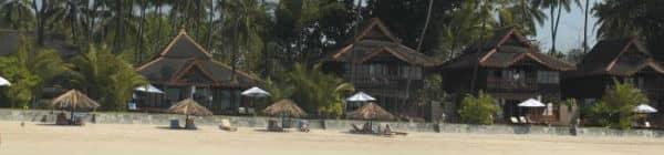 Ngapalis strandområde er meget smukt