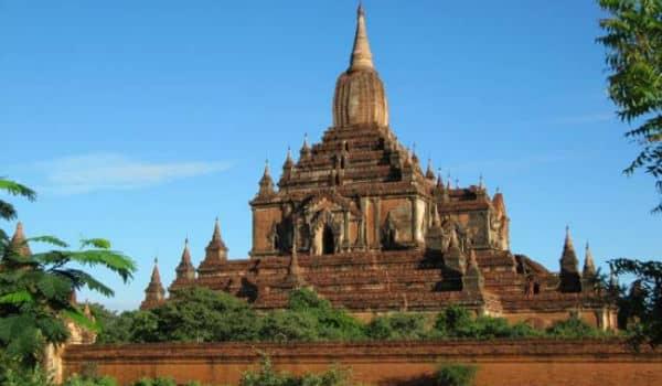 Bagan i Myanmar er et berømt tempelunivers
