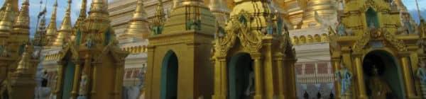 Yangon templet er noget af det smukkeste i Myanmar