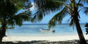 Andaman strand i Indien