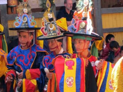 Mennesker i Bhutan i Indien