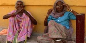 Kvinder i Rajasthan i Indien