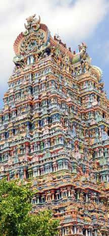 Madurai tempel i Indien