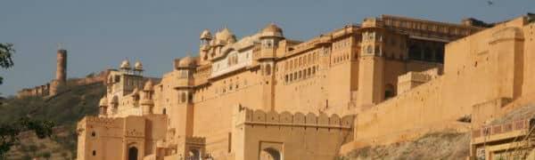 Amber Fort i Indien