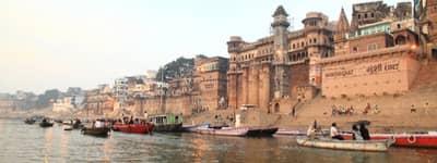Ganges i Indien