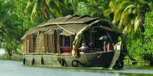 Husbåd i Indien