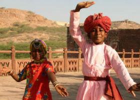 Jaisalmer i Indien