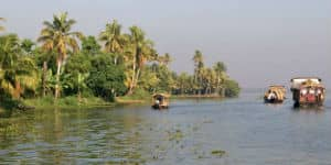 Backwaters i indien