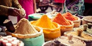 Krydderier i Indien