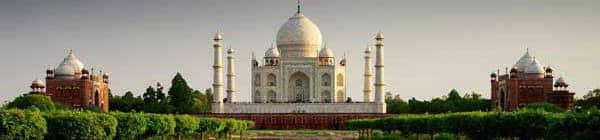 Taj Mahal tempel i Indien
