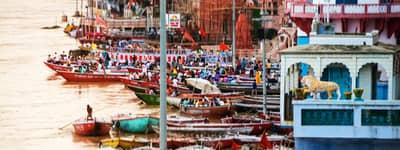 Varanasi i Indien