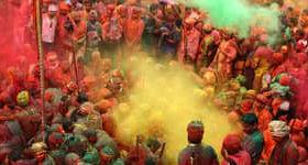 Indisk farvefest