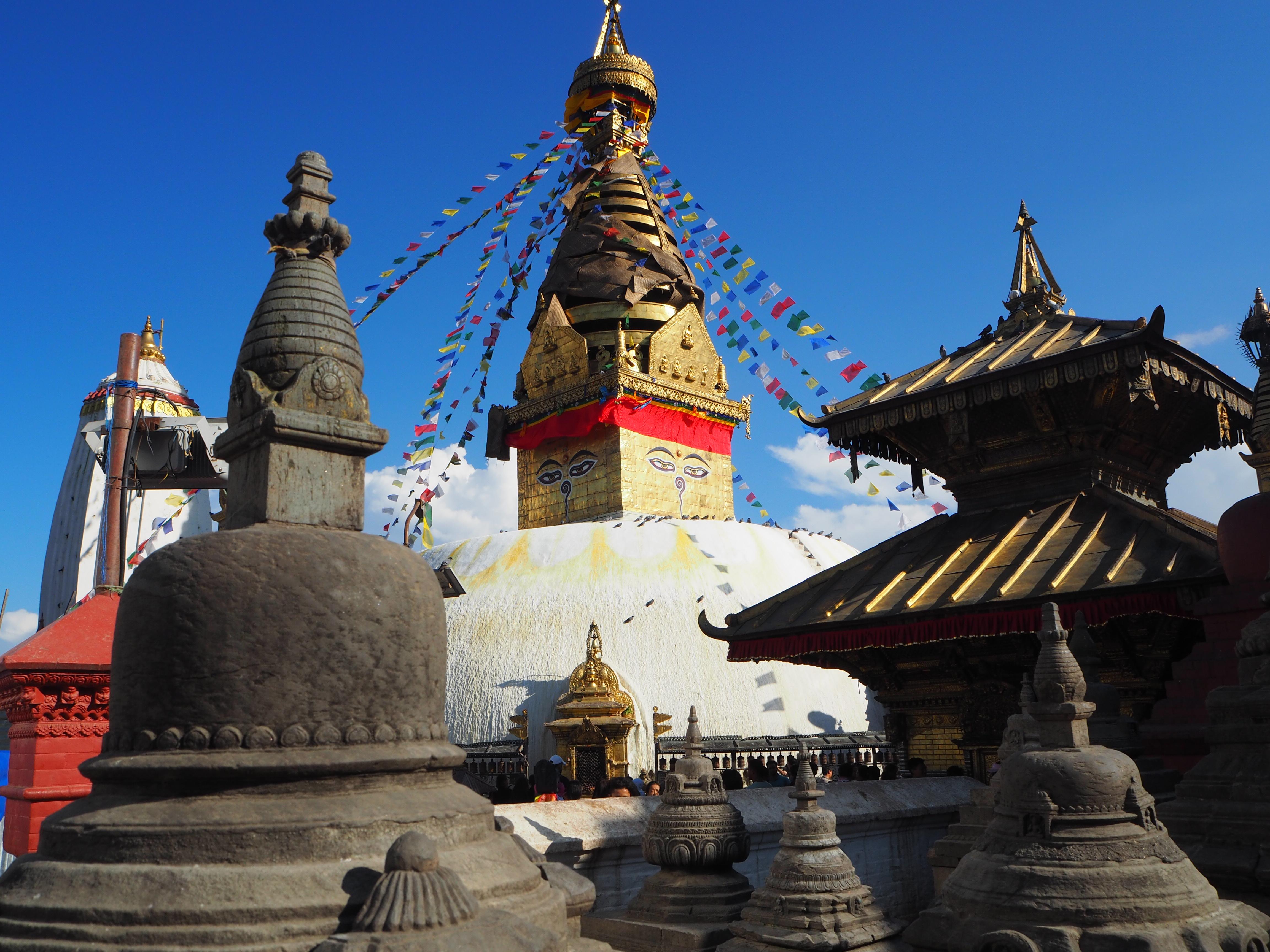 Rejs til Kathmandu i Nepal