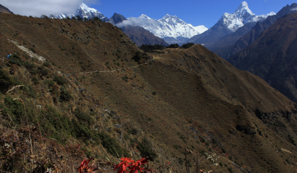 Flot udsigt på til Sagarmatha National Park