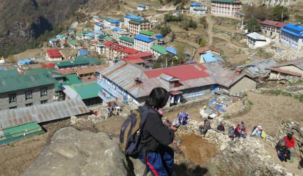 Manaslu er det 8. højeste bjerg i verden og det kan du opleve på din Nepal rejse
