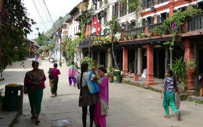 Rejs til Lumbuni i Nepal