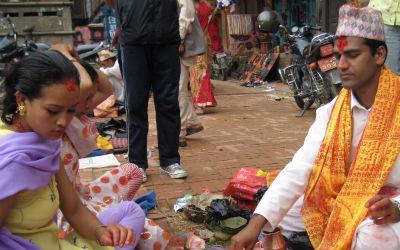 Rejs til Tansen i Nepal