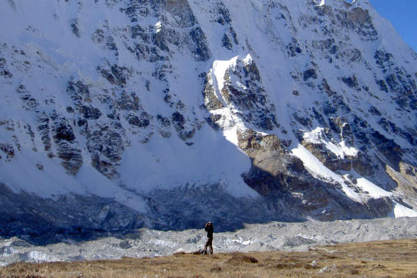 Flot udsigt på trekking rute i Nepal