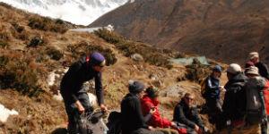 Klimaet på Mount Everest er en del køligere end øvrige steder i Nepal