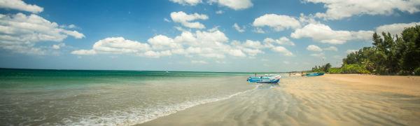 Sri Lanka har smukke bounty strande