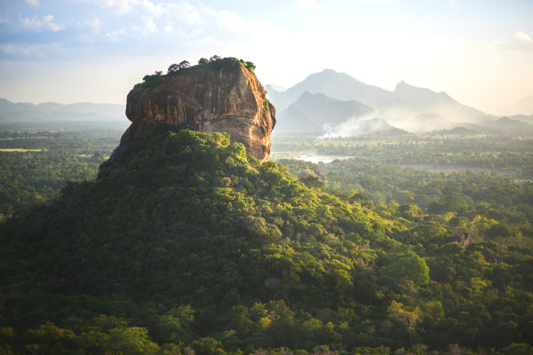 Oplev den smukke Sigiriya klippe, når du rejser til Sri Lanka