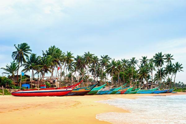 Sri Lanka rejser er kendt for sine smukke strande