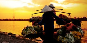 Fiskere i Vietnam