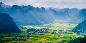 Vietnams smukke natur