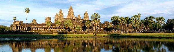 Besøg fantastiske Cambodia