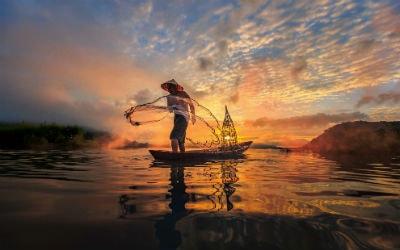 Rejser til Mekong deltaet i Vietnam