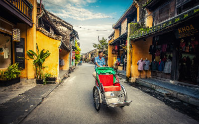 Rejser til Hoi An i Vietnam