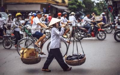 Rejser til Hanoi i Vietnam